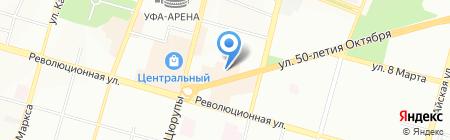 Килстройинвест на карте Уфы