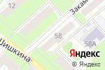 Схема проезда до компании Тонус в Перми