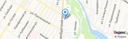 АЗС Русойл на карте Стерлитамака