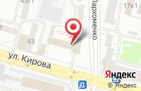 Схема проезда до компании Herbalife в Гурьевске