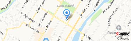 Ашкадар на карте Стерлитамака