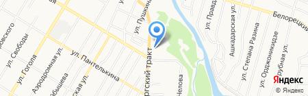 Империя-Н на карте Стерлитамака