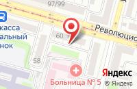 Схема проезда до компании Веста-Уфа в Уфе