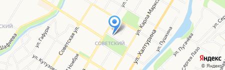 Стерлитамакское районное потребительское общество на карте Стерлитамака