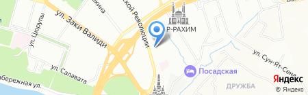 СолидТехноСервис на карте Уфы