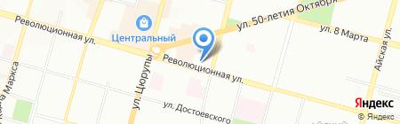 ОКНА ВЕКА на карте Уфы