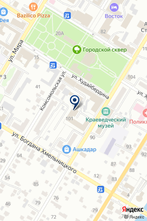 ГРУЗОВОЕ TAXI на карте Стерлитамака