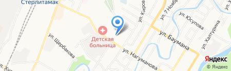 Харон на карте Стерлитамака