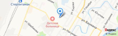 Ангел на карте Стерлитамака