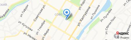 Вяленый гусь на карте Стерлитамака