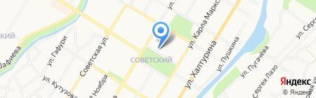 Государственный русский драматический театр г. Стерлитамака на карте Стерлитамака