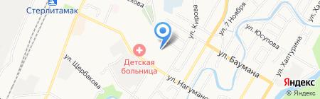 Комбинат специального обслуживания населения городского округа г. Стерлитамак на карте Стерлитамака