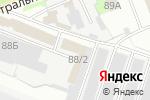 Схема проезда до компании Аква в Перми