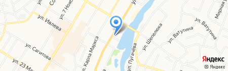 Домас на карте Стерлитамака
