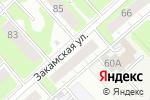 Схема проезда до компании EVAKAM в Перми