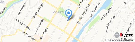 Социальный центр поддержки населения Республики Башкортостан на карте Стерлитамака