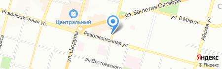 Studia S на карте Уфы