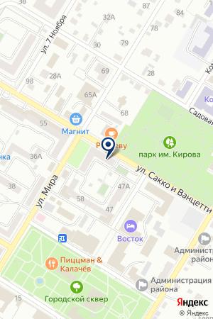 АССОЦИАЦИЯ ДЕЛОВОГО СОТРУДНИЧЕСТВА СОЮЗ на карте Стерлитамака