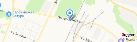 Торгово-сервисная компания на карте Стерлитамака