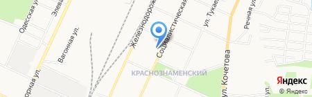 Отдел Министерства здравоохранения Республики Башкортостан в г. Стерлитамаке на карте Стерлитамака