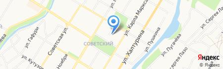 Ориент на карте Стерлитамака