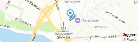 АвтоСтарт на карте Уфы