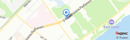 ГИК на карте Перми
