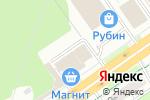 Схема проезда до компании Луна в Перми