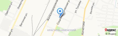 Почтовое отделение №104 на карте Стерлитамака