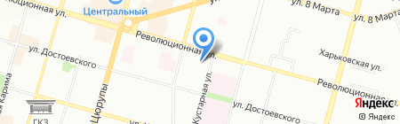 Детский сад №147 на карте Уфы