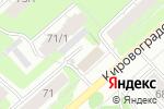 Схема проезда до компании Hit-Club в Перми