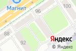 Схема проезда до компании Сосны в Перми