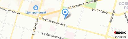 КомпМастер на карте Уфы