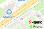 Схема проезда до компании Комфорт в Перми