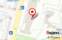 Схема проезда до компании Хэнэк в Уфе