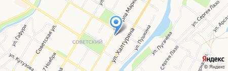 Отдел информационной политики на карте Стерлитамака