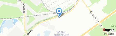 КрепЪ на карте Перми