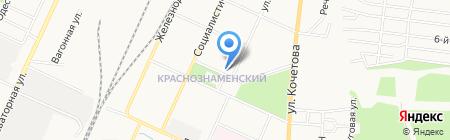 Ясное на карте Стерлитамака