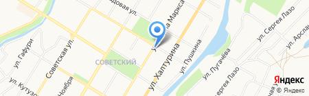 Колос на карте Стерлитамака