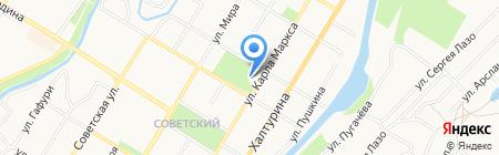 Лабиринт на карте Стерлитамака