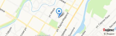 Комфорт на карте Стерлитамака
