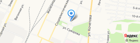 Салон срочного фото на карте Стерлитамака