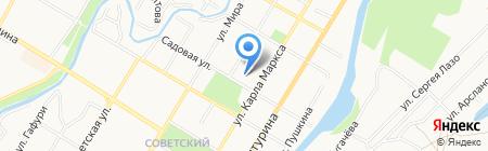 СИФК на карте Стерлитамака