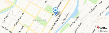 НИКА на карте Стерлитамака