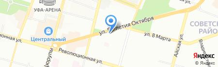 Ника на карте Уфы