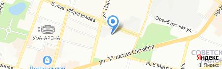 Телекоммуникационные системы на карте Уфы