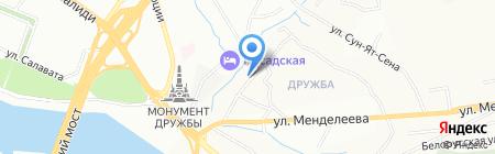 999 на карте Уфы