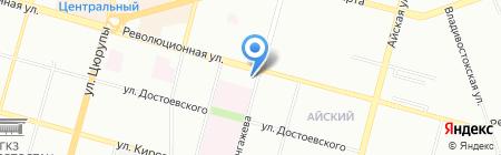 Старая Уфа на карте Уфы