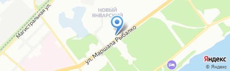 Госпожа Удача на карте Перми