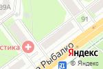 Схема проезда до компании Госпожа Удача в Перми